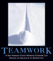 Teamwork despair.com