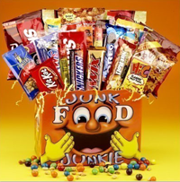 I am a junk food junkie. I like food that's not good for you