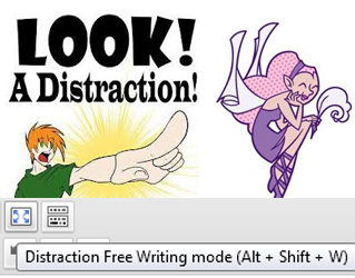 Writing Distraction