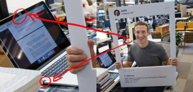 Mark Zuckerberg Covers His Laptop Camera and Microphone