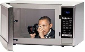 Microwave Spying